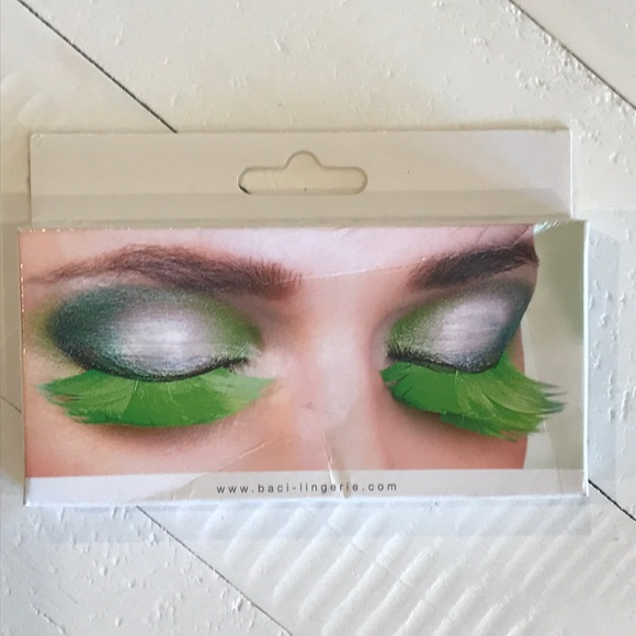 8149b5ca780 Baci Paradise Dreams Makeup | Hp Green Feather Eyelashes | Poshmark